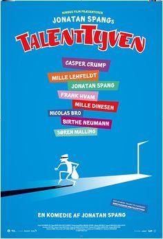 Plakaten til TalentTyven, copyright SF Film