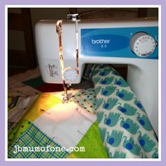 Step 8 in this beginners guide to quilting. If you can sew in roughly a straight line you can make this quilt!