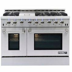 Just in case I win the lottery NXR-PRO Professional Style GAS Range in Stainless Steel Cooking Appliances, Kitchen Appliances, Kitchens, Kitchen Stove, Real Kitchen, Awesome Kitchen, Kitchen Utensils, Restaurant Kitchen Equipment, Bar Restaurant Design