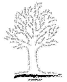 Shape Poems For Kids, Poema Visual, Blackwork, Found Poetry, Different Quotes, Bts Chibi, Word Pictures, High Art, Tree Crafts