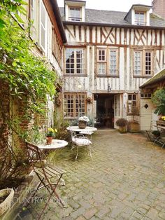the old school house for sale in honfleur, a beautiful property, currently a thriving B&B, but easily adaptable as a private home