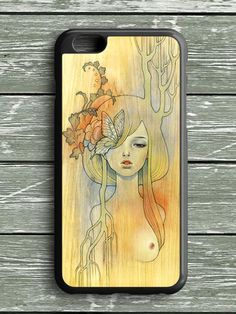 Art Girl Painting iPhone 6S Plus Case