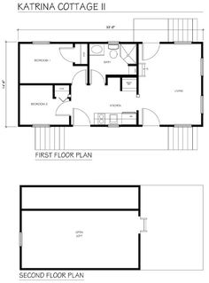 building plans single family katrina cottage - Katrina Cottage Plans