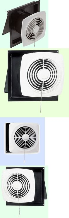 Other Home Heating And Cooling 20598: Kitchen Exhaust Fan 8 Pull Chain  White Wall Ventilation