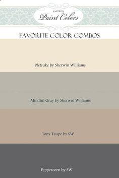 Favorite Paint Colors: Sherwin Williams