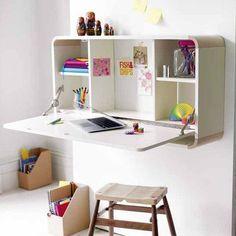 space saving desk idea #spacesaving #desk #interior