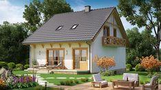 Projekt domu BW-32 wariant 1 133,7 m2 - koszt budowy - EXTRADOM Gazebo, Outdoor Structures, Cabin, House Styles, Home Decor, Homemade Home Decor, Kiosk, Decoration Home, Room Decor