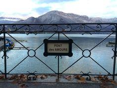 Ponte degli innamorati. Annecy, Francia