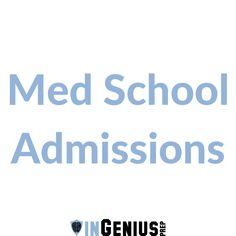 67 Best Med School Admissions images in 2019   Medical