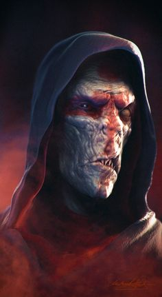 Darth Plagueis Portrait - Michael Gravemann