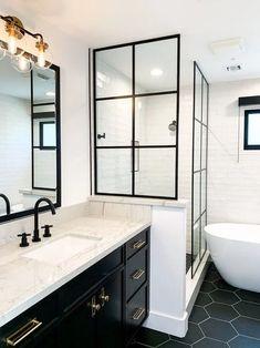 Master Shower Design - Lilly is Love Bathroom Design Small, Bathroom Interior Design, Small Bathroom Inspiration, Master Shower, Master Bathroom, Master Baths, Shower Bathroom, Vanity Bathroom, Dream Bathrooms