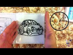 "Витражные краски ""Машинки"". Subscribe http://bit.ly/21luDi8"