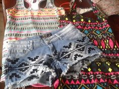 tribal I Love Fashion, Diy Fashion, Womens Fashion, Tribal Patterns, Tribal Prints, Summer Wear, Summer Time, Tanned Skin, Tumblr Fashion