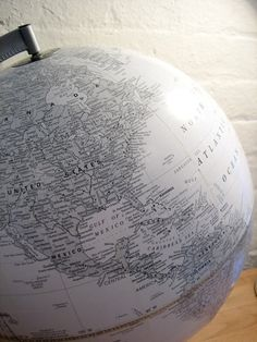 Silverstone White Globe