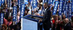 president barack obama 2016 dnc | PHOTO: President Barack Obama speaks during the third day of the ...