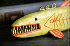 The Fish Decoy: No. 26 by heirloomathome on Etsy