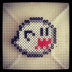 Boo from Super Mario World  #perler #perlerbeads #hama #hamabeads #artandcrafts #fusebeads #boo #supermariobros #supermarioworld #nintendo #8bit #16bit #24bit