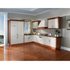 China Country Style Pvc Kitchen Cabinet Model Op12 X135
