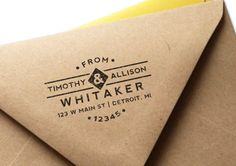 MarketHouse Custom Rubber Stamps - Classic No. 1