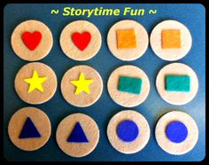 Storytime Swap 2012: Cookies, Shapes, and Colors Galore!