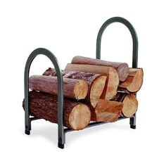 Enclume Design Offset Arch Log Rack Hammered Steel * To view further for this item, visit the image link.