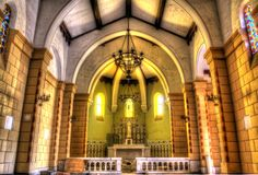 Virgin Mary Church Interior
