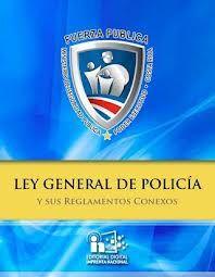 Ley general de Policía