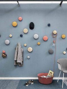 MUUTO - MEDIUM THE DOTS WALL HOOK - BLUE   #livingroom #kidsroom #woonkamer #kinderkamer #afflink (scheduled via http://www.tailwindapp.com?utm_source=pinterest&utm_medium=twpin)