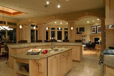 kitchen coutertops   Contemporary Kitchen, Granite Counter Tops, Kitchen Table Tops