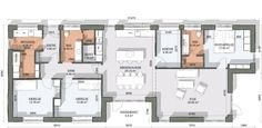 Case, Soho, My Dream Home, Bungalow, House Plans, Floor Plans, How To Plan, Inspiration, Ideas