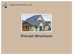 The earliest materials for construction was either stone or plaster, and most modern material in our opinion is precast concrete.