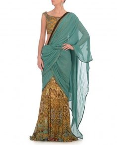 Printed Ombre Imperial Concept Saree