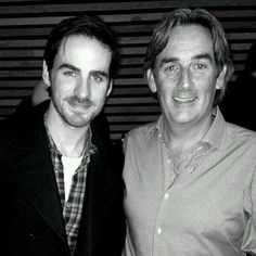 Photo of Colin O'Donoghue & his  Father  Con O