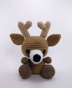 PATTERN: Crochet deer pattern amigurumi par TheresasCrochetShop