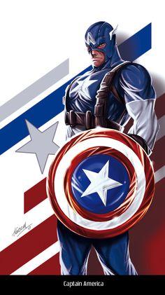 Captain America by avalonfilth.deviantart.com on @deviantART
