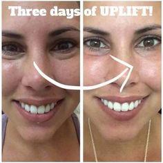 Uplift Eye Serum = magic!!!  http://AngelWingLashes.com