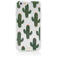 Sonix Cactus iPhone 6/6s Case ($35) ❤ liked on Polyvore featuring accessories, tech accessories and green multi