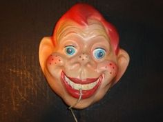 ... 1950 Vintage Hard to Find Howdy Doody Chalkware String Holder Excellent ...