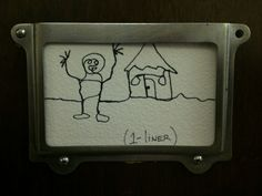Day #90 of my Art On My Door project