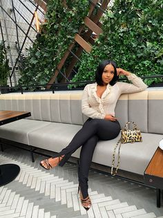 Boujee Outfits, Cute Casual Outfits, Stylish Outfits, Spring Outfits, Fashion Outfits, Black Girl Fashion, Look Fashion, Bougie Black Girl, Mode Ootd
