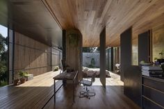 The Sawmill House: Ein Gebäude aus recyceltem Beton Architecture Awards, Residential Architecture, Interior Architecture, Studio Floor Plans, Concrete Blocks, House Built, Modern Interior Design, Detached House, Melbourne