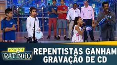 Programa do Ratinho (05/08/15) - Grupo de Repentistas ganham gravação de CD