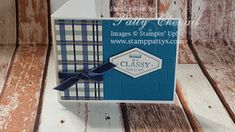 Stamp-Patty's: Truly Tailored Masculine Birthday Beautiful Handmade Cards, Images Google, Masculine Cards, Stampin Up, Birthday, True Gentleman, Life, Card Ideas, Catalog
