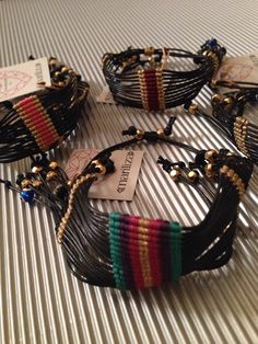Statement Fashion Bracelets!  Find them Mariliza Antiparos Boutique