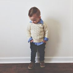 trendy baby boy style winter little man Baby Club - online baby clothes stores where you can find fashionable baby clothes. There is a kid and baby style here. Baby Outfits, Outfits Niños, Little Boy Outfits, Toddler Boy Outfits, Denim Outfits, So Cute Baby, Cool Baby, Baby Kind, Toddler Boy Fashion