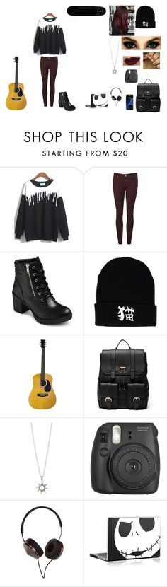 """""""Untitled #74"""" by juliab3638 on Polyvore featuring Paige Denim, EASTON, Samsung, Sole Society, Fujifilm, Frends and County Of Milan"""