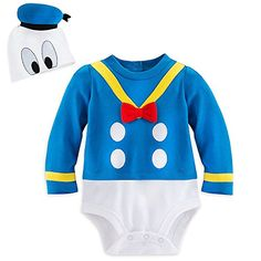 Disney Store Donald Duck Baby Costume Outfit & Hat Boys Size 18-24M * Click image for more details.