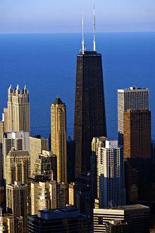 John Hancock Center. SOM. Chicago, Illinois. 1970. 1127 ft tall.