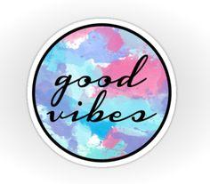 Good Vibes sticker                                                                                                                                                                                 More