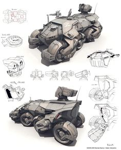 APC concept by Jetto - Dmitry Popov - CGHUB via PinCG.com